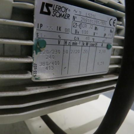 R6BB971 Mild steel FORPLEX mill - F00 Type - Hp0.75