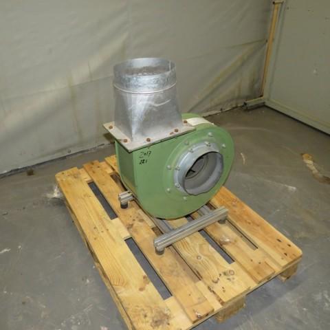 R1X1285 Mild steel WATTOHM EQUIPEMENT Centrifugal fan - Hp0.5 - Rpm3000