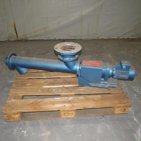 R4S884 Vis d'Archimède sous tube en acier Ø 120 mm x 700 mm