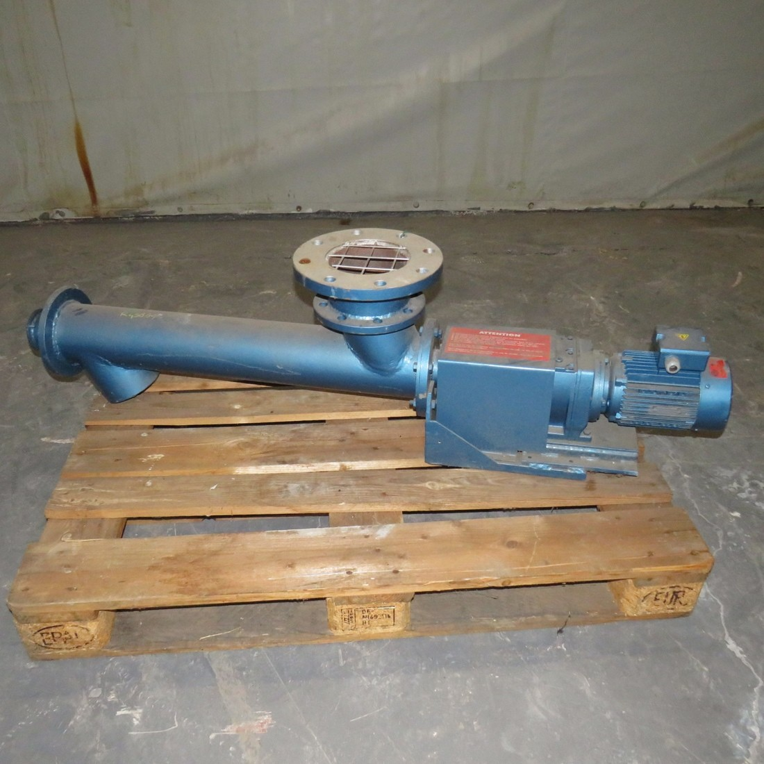 R4S884 Mild steel srew Ø 120 mm x 700 mm