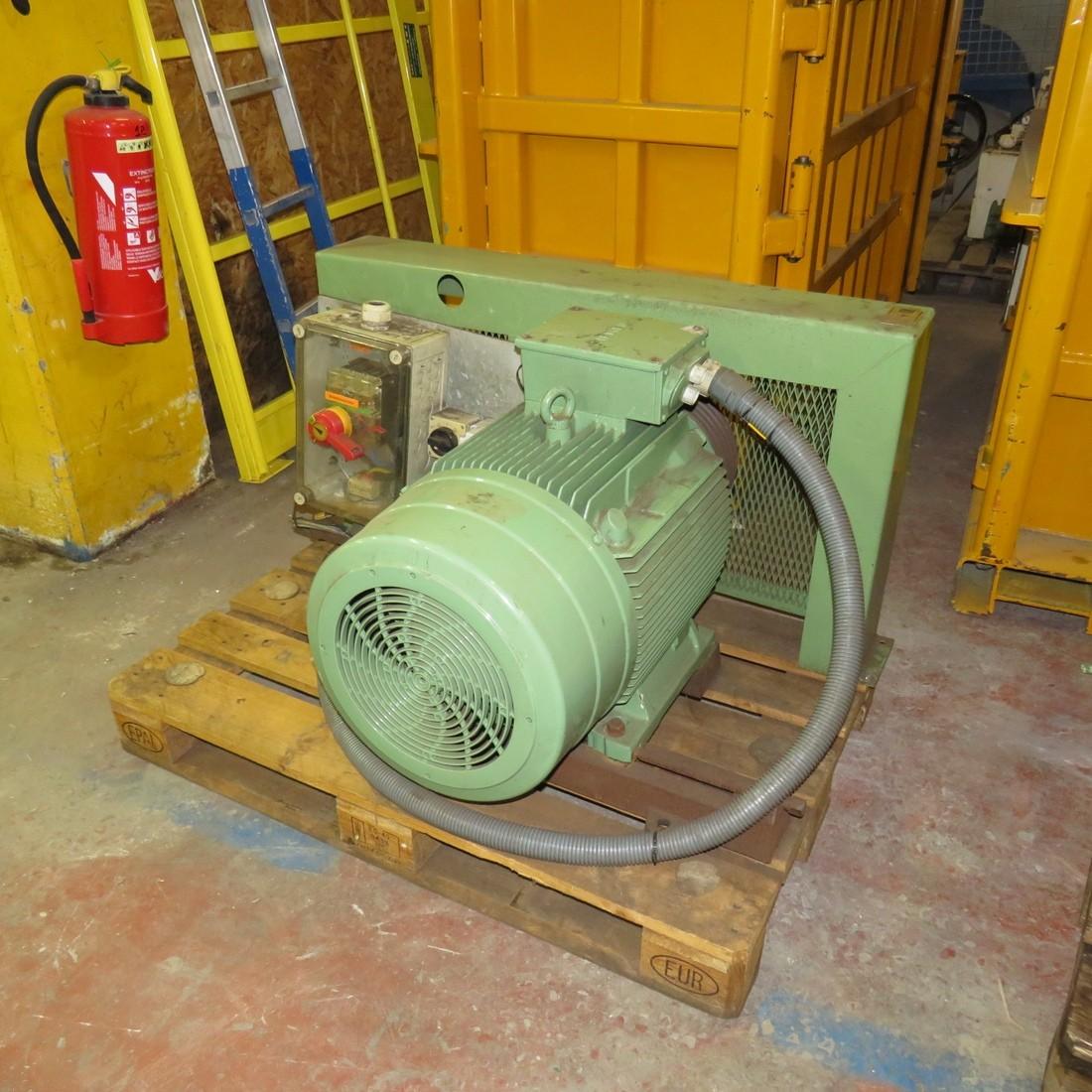 R6BA858 Mild steel BUHLER Hammer mill - Hp50 - Rpm1500