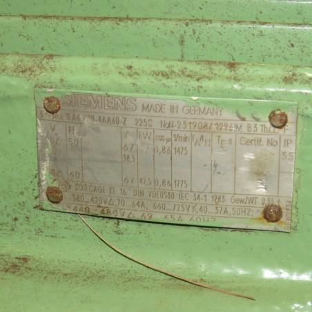 R6BA858 Broyeur à marteaux Acier BUHLER - 37Kw - 1500t/min