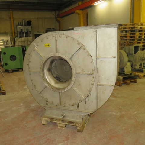 R1X1286 Ventilateur centrifuge VENTAPP Inox - 30Kw - 1500t/min