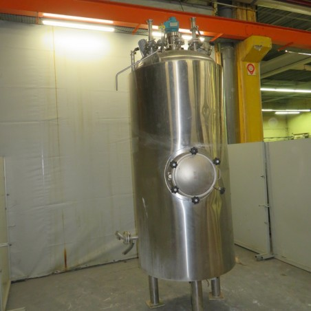 R6MA6171 Stainless steel PROMINOX mixing tank double jacket - 1825 liters