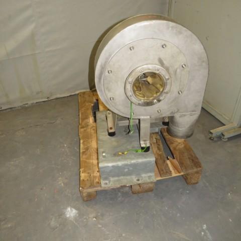 R1X1296 Ventilateur centrifuge VENTAPP Inox - 1.1Kw - 3000t/min