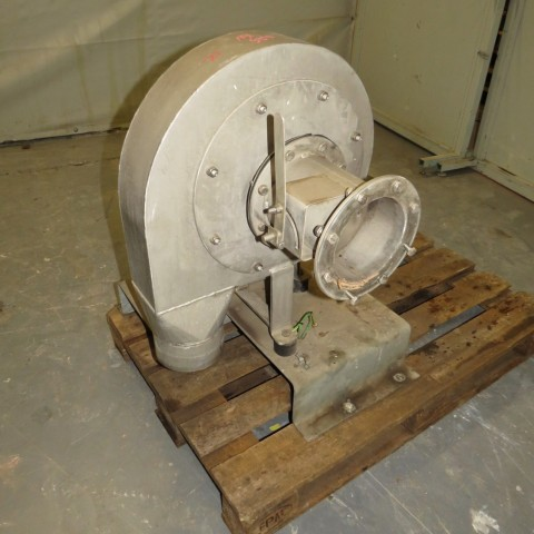 R1X1297 Ventilateur centrifuge VENTAPP Inox - 0.75Kw - 3000t/min