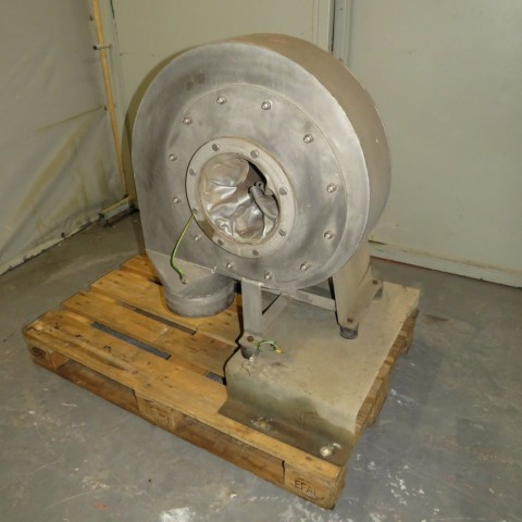 R1X1298 Stainless steel VENTAPP centrifugal fan - Hp3 - Rpm3000