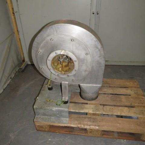 R1X1299 Ventilateur centrifuge VENTAPP Inox - 1.5Kw - 3000t/min