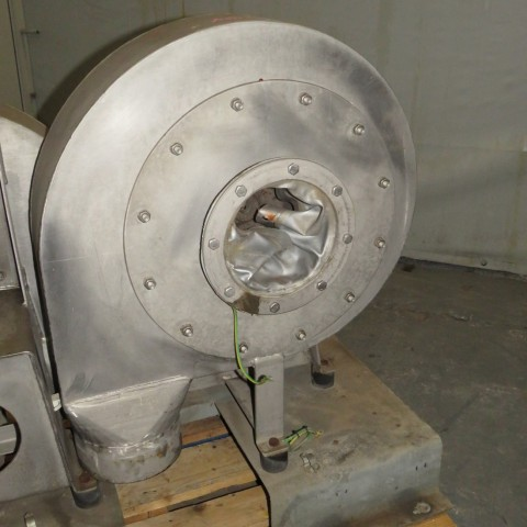 R1X1301 Ventilateur centrifuge VENTAPP Inox - 1.5Kw - 3000t/min