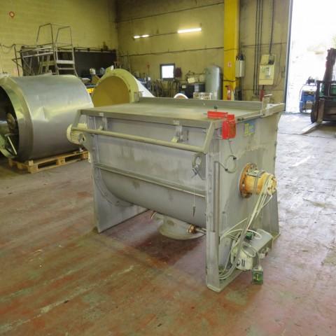 R6MK1417 Stainless steel MAP Ribbon blender - 850 liters - Hp10