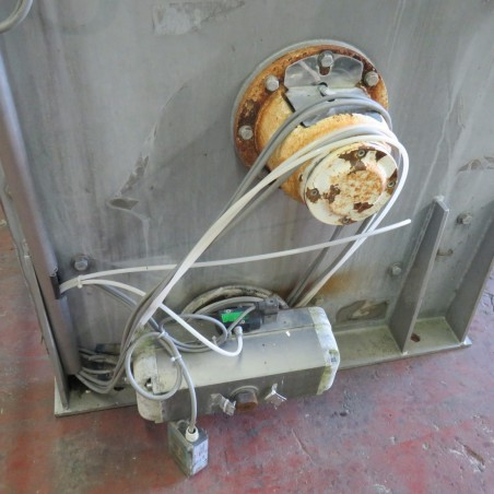 R6MK1417 Stainless steel MAP Ribbon blender - 850 liters - Hp10