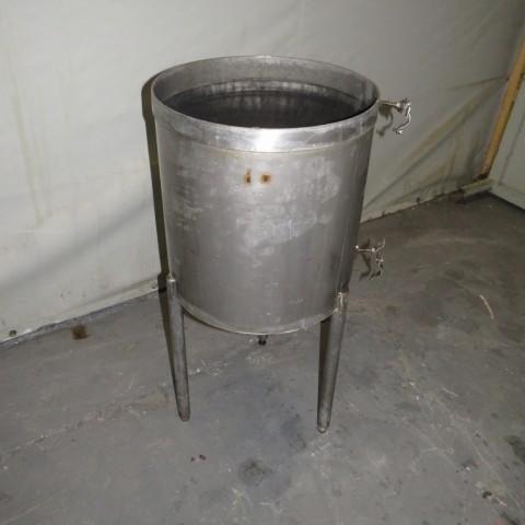 R11DB22714 Stainless steel vessel - 60 liters