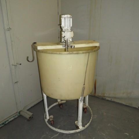 R6MA6172 Plastic mixing tank - 250 liters - Hp0.5