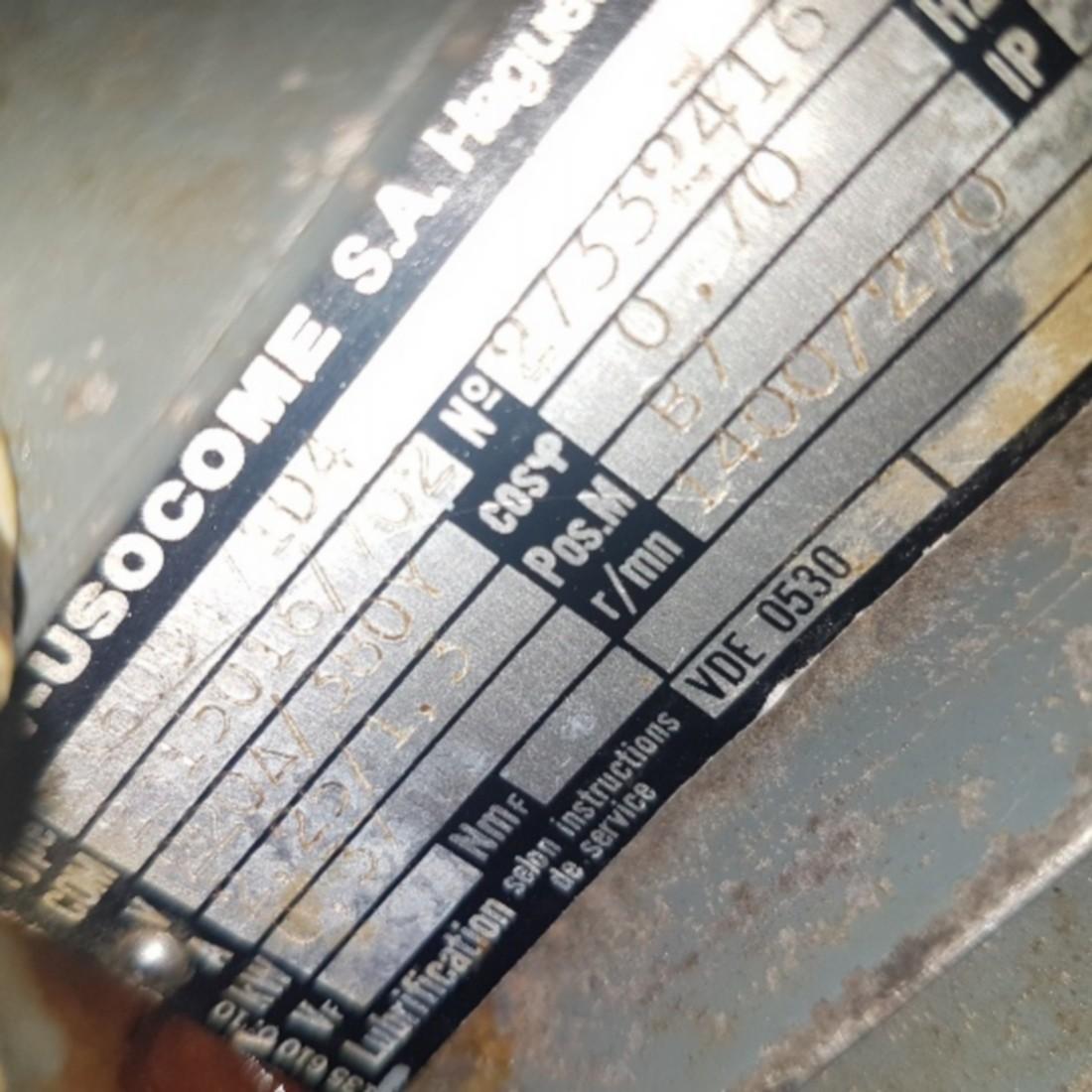 R6ME6391 Stainless steel ASTOR mixer - 40 liters - Hp3