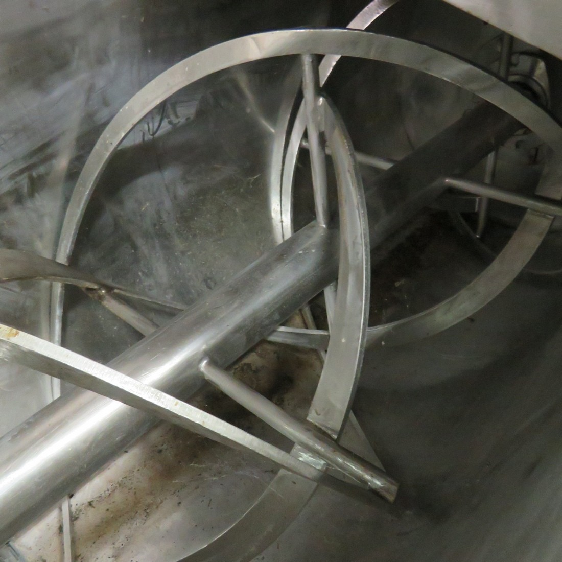 R6MK1418 Stainless steel Ribbon blender - 400 liters