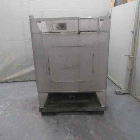 R11CB186 Container Inox BSI - 1295 litres