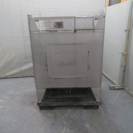 R11CB186 Stainless steel BSI container - 1295 liters