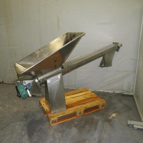 R4S1095 Stainless steel Screw - Ø100X1600mm