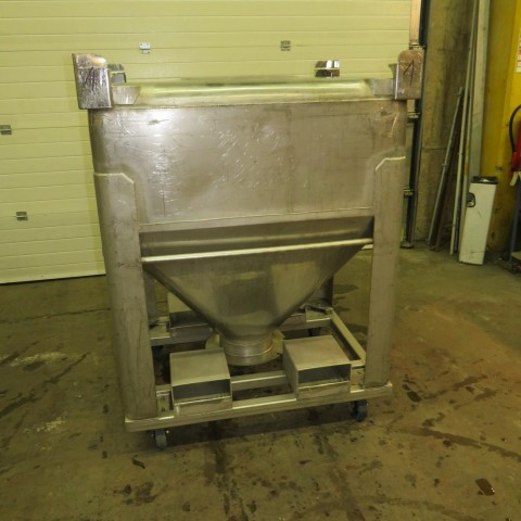 R11CB188 Stainless steel container - 700 liters