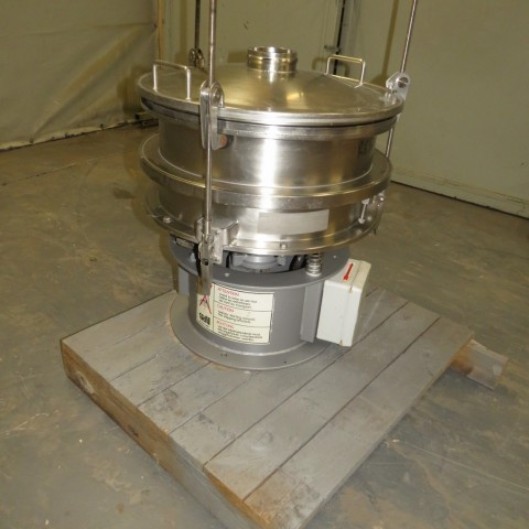 R6SA1138 Stainless steel SATIL Circular sieve - 1 deck - Ø480mm