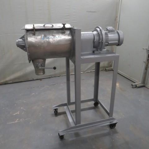 R6MK1416 Stainless steel GONDARD Ribbon blender - 50 liters - Hp2.5