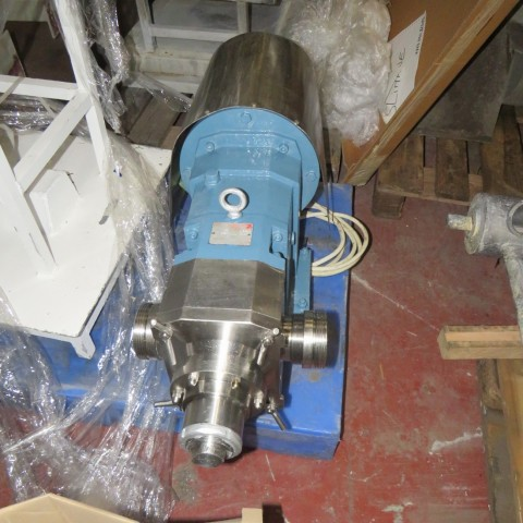 R10DE848 Stainless steel ALBIN PUMP AB SWEDEN roots rotary pump - Hp6.8