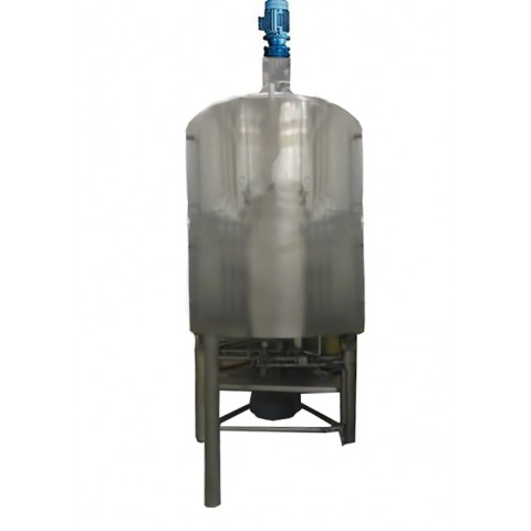 R6MA6174 Stainless steel GUERIN Mixing tank - 4650 liters - Double jacket