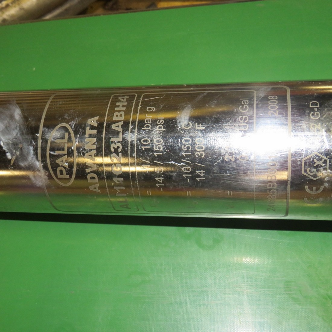 R6F1053 Stainless steel PALL Filter - ADVANTA Type