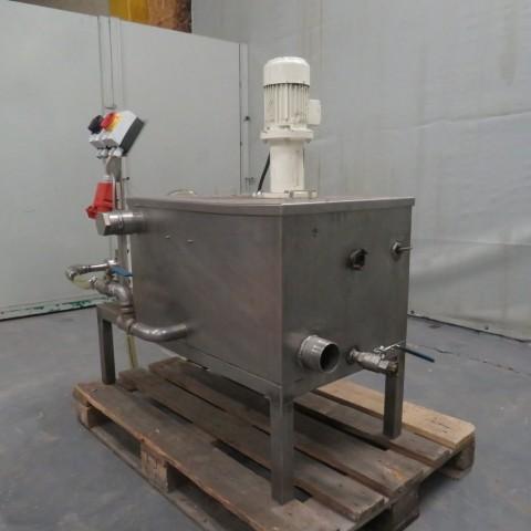 R6MA6176 Cuve de mélange Inox avec pompe de transfert