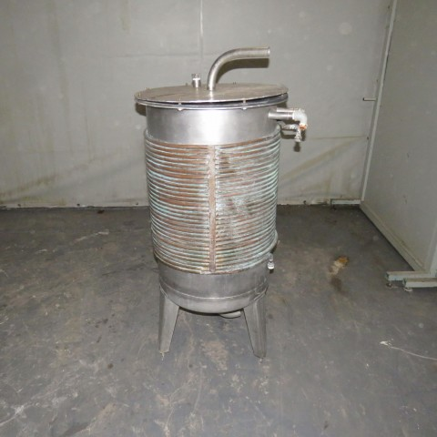 R11DB22715 Stainless steel vessel - 175 liters