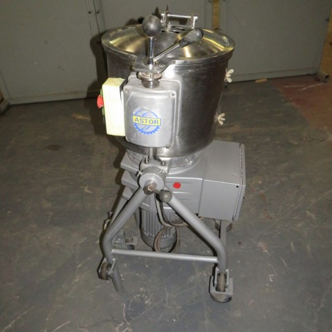 R6ME6391 Stainless steel ASTOR mixer - 40 liters - Hp3