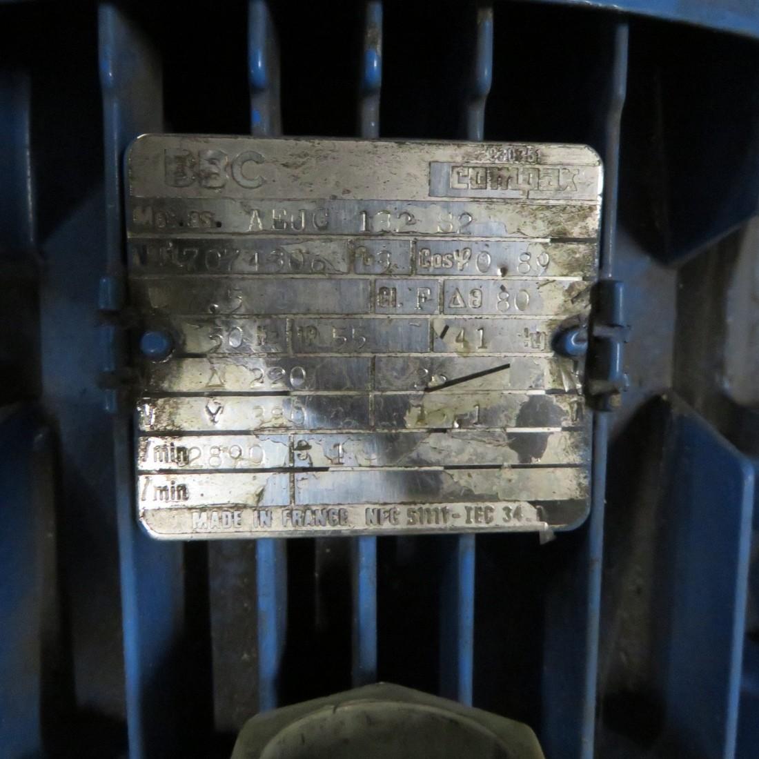 R10VA1294 Stainless steel PIERRE GUERIN centrifugal pump - Hp10 - Rpm3000