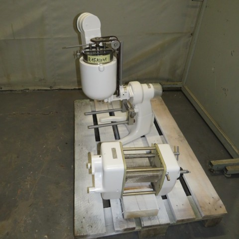 R15A1041 Stainless steel ERWEKA set : Electric melter and granulator