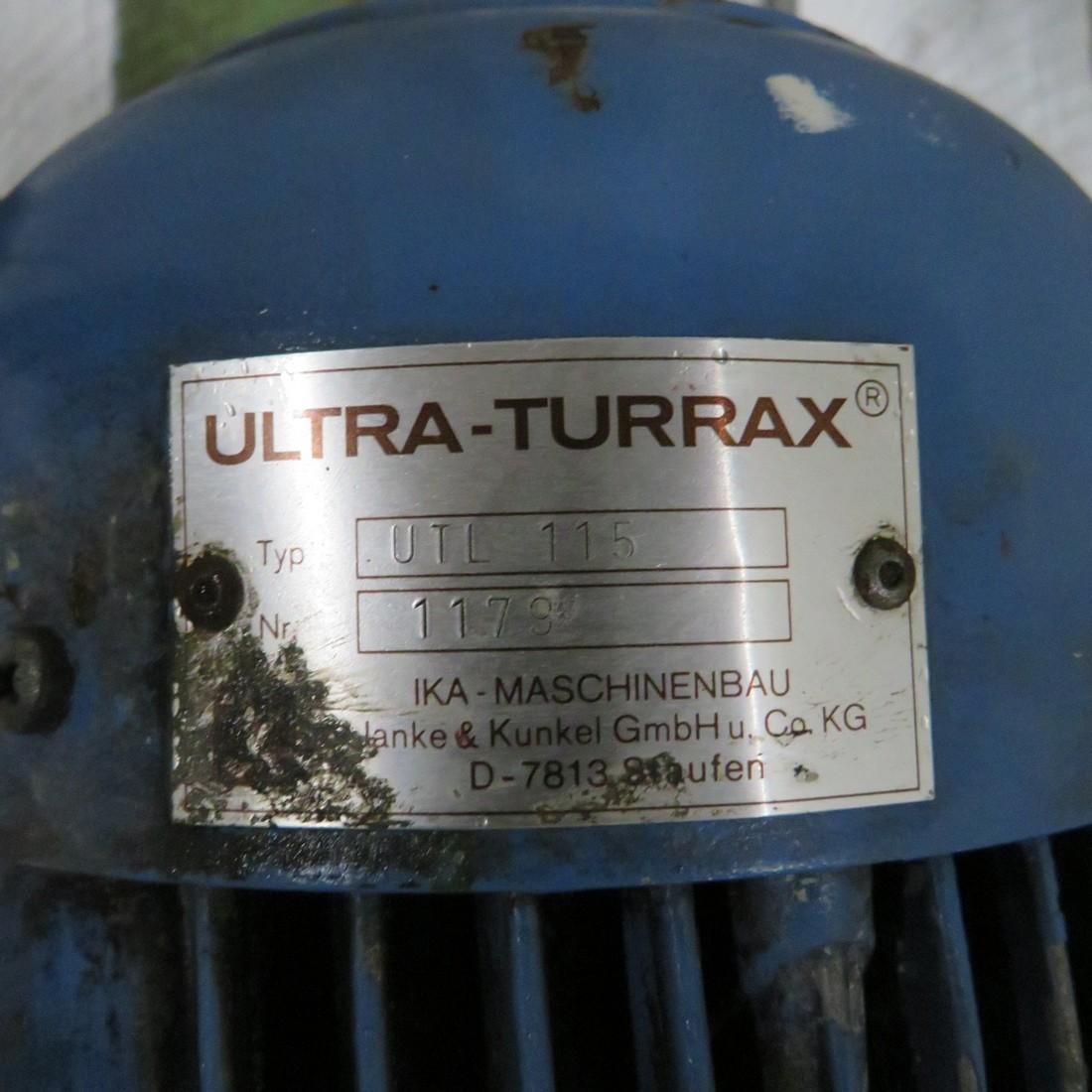 R6T1281 IKA ULTRA TURRAX inline Disperser - RTL115 Type