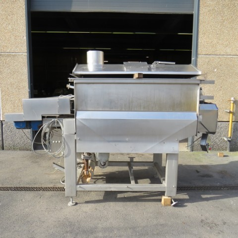 R6ME6393 Stainless steel ribbon BLENTECH CORPORATION Mixer - 800 Liters - double jacket