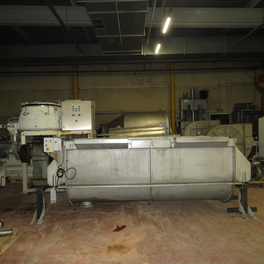 R6MK1421 Stainless steel Ribbon blender - 3000 liters - Hp30