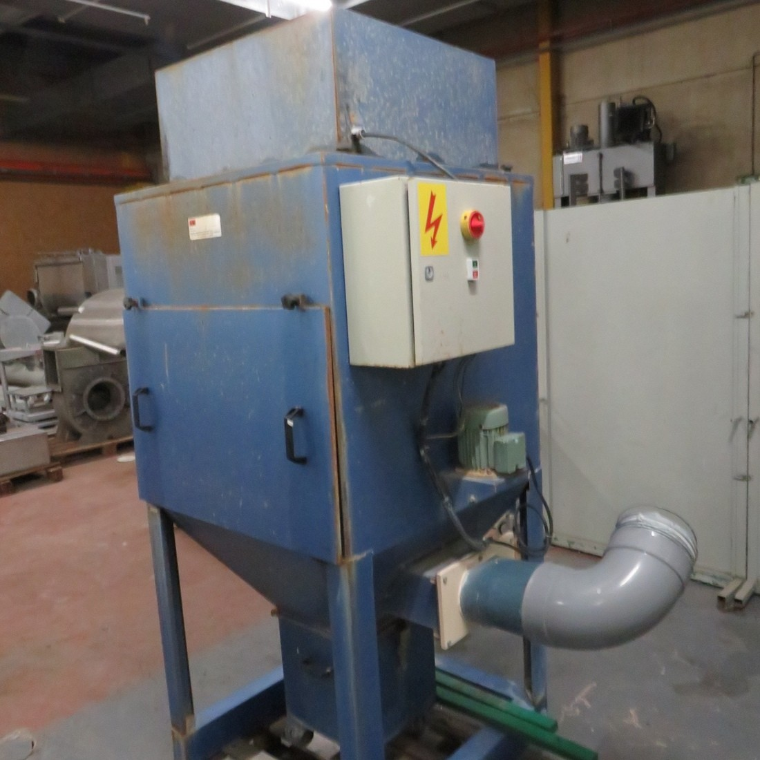 R1J1179 AAF Dust unit filter 16 m² - DAS 250 Type - Hp4