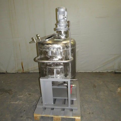 R6MA6167 Stainless steel mixing tank - 260 liters