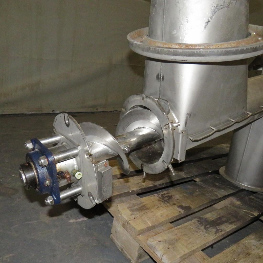 R4S1097  Stainless steel Screw - Ø140X550 mm