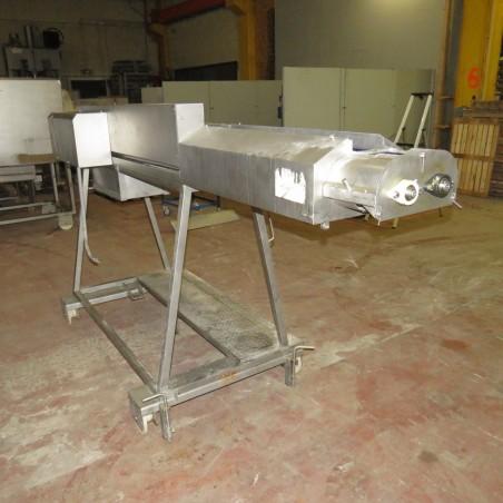 R4FB1188 Double rotating brush conveyor - Ø150X2600 mm