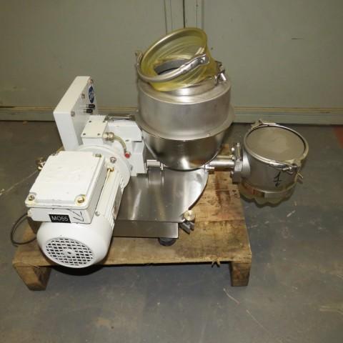 R6VB847 Doseur à poudre KTRON Inox - Type KML-KT20 - 0.55Kw