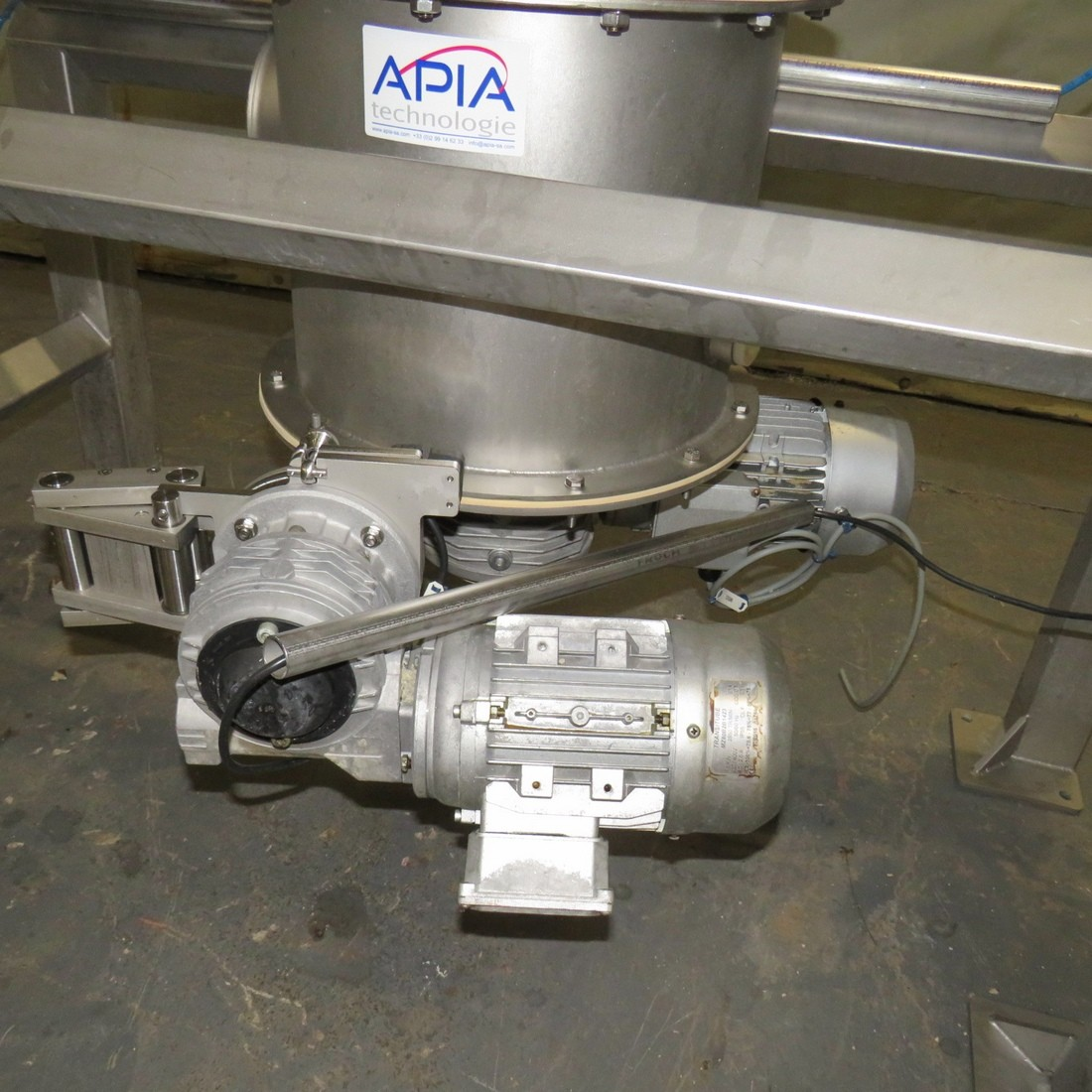 R6ML1394 Stainless steel WAM mixer - WBH 200/30 Type - 300 liters