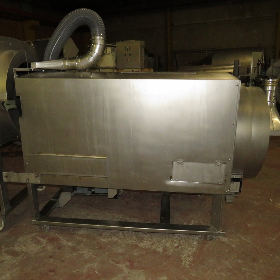 R6ME6394 Stainless steel mixer / Coater cascading