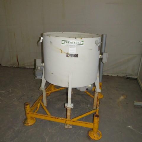 R6VB848 Mild steel CREATEC Powder dosing machine - 250 liters