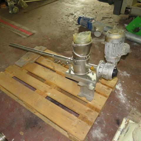 R4S1099 Vis d'Archimède Inox Transitube - Ø40 X 1200 mm