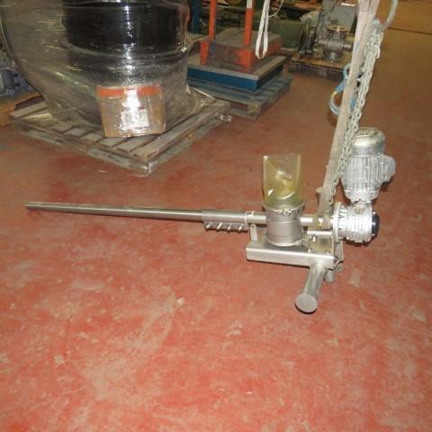 R4S1100 Vis d'Archimède Inox Transitube - Ø40 X 1450 mm