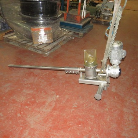 R4S1100 Stainless steel transitube screw - Ø40 X 1450 mm
