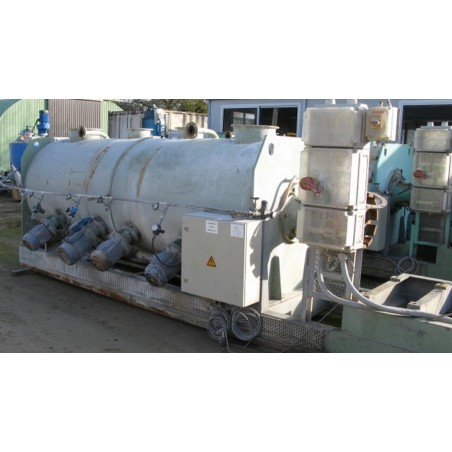 R6ML1395 Mild steel LODIGE ploughshare mixer - FKM 3000 D4Z Type - Visible by appointement