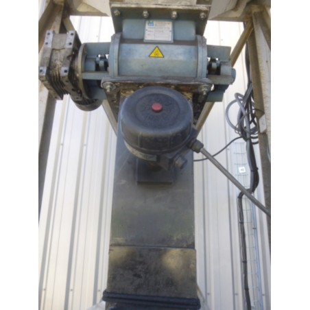 R1J1181 Mild steel DCE dust collector - Hp 15 - visible by appointement