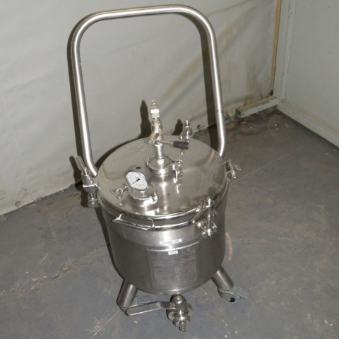 R11DB22716 Stainless steel 3C vessel - 34 Liters